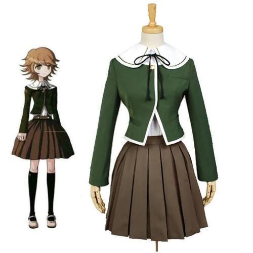Danganronpa Fujisaki Chihiro Costume Jk School Uniform Sailor Suit