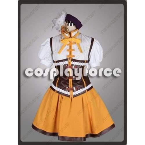 New Puella Magi Madoka Magica Tomoe Mami Cosplay Costume