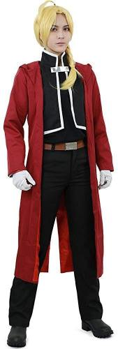 Men'S Edward Elric Cosplay Costume