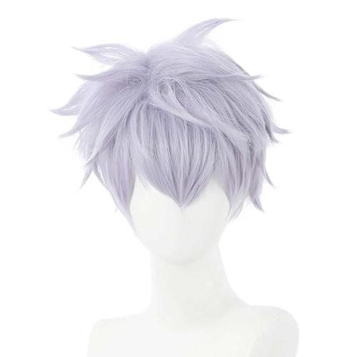 Anime Jujutsu Kaisen Satoru Gojou Heat Resistant Synthetic Hair Carnival Halloween Party Props Cosplay Wig