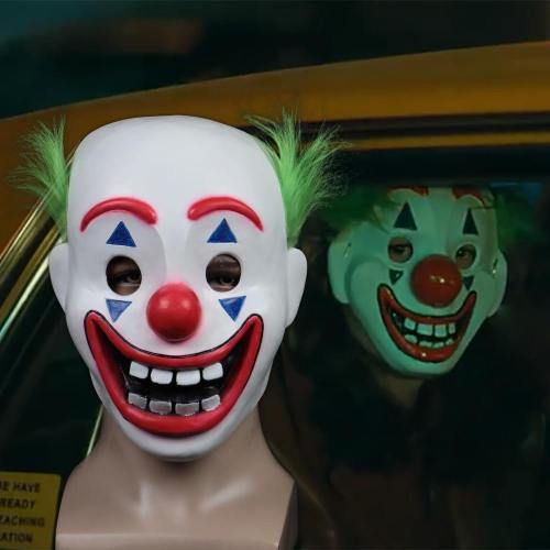 Joker Pennywise Stephen King It Chapter 2 Latex Mask Costumes Props