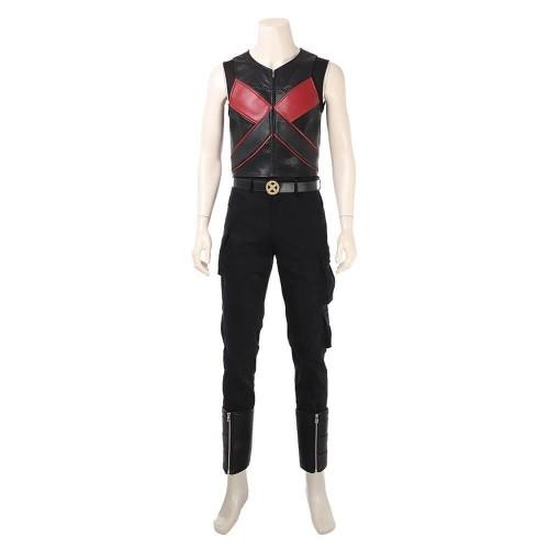 Men Suit Deadpool 2 Colossus Costume Halloween Party Cosplay Costume