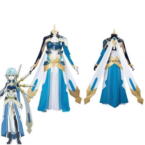Sword Art Online Sao Asada Shino Halloween Uniform Custom Made Cosplay Costume