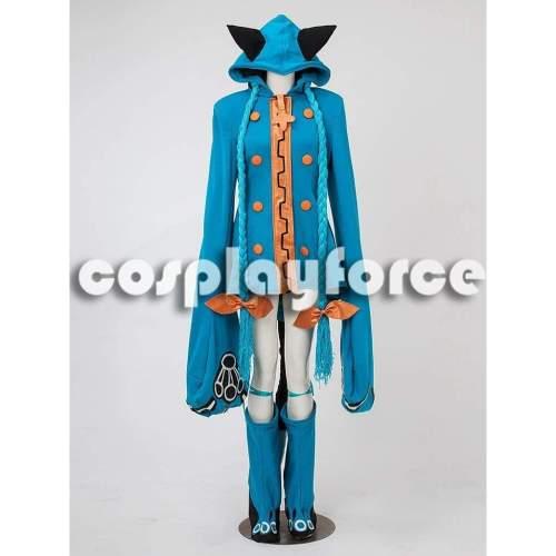 Blazblue Taokaka Blue Cosplay Costume