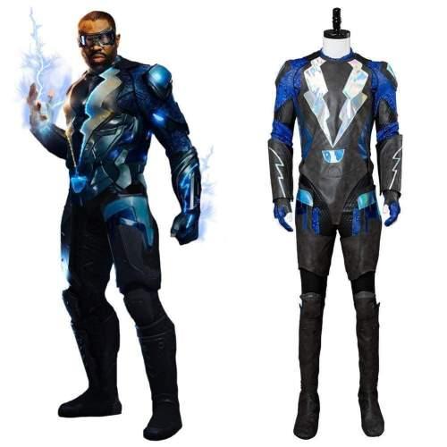 Black Lightning Jefferson Pierce Outfit Cosplay Costume