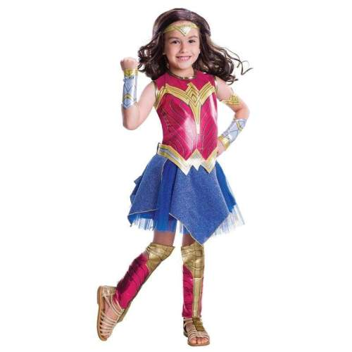 Deluxe Child Dawn of Justice Wonder Woman Costume for Girl