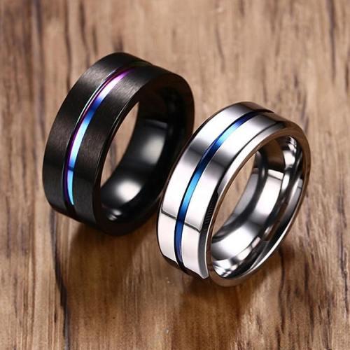 Rainbow Thin Line Ring