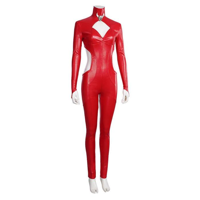Game Marvel Future Fight-Satana Jumpsuit Romper Outfits Halloween Carnival Suit Cosplay Costume