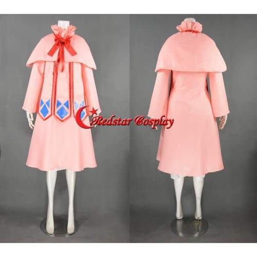 Mavis Vermilion Cosplay Costume From Fairy Tail - Costume Made In Any Size
