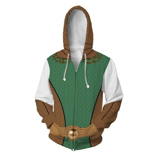The Boys Season 1 The Deep Cosplay Hoodies Halloween Cosplay Jacket Sweater Zipper Clothing
