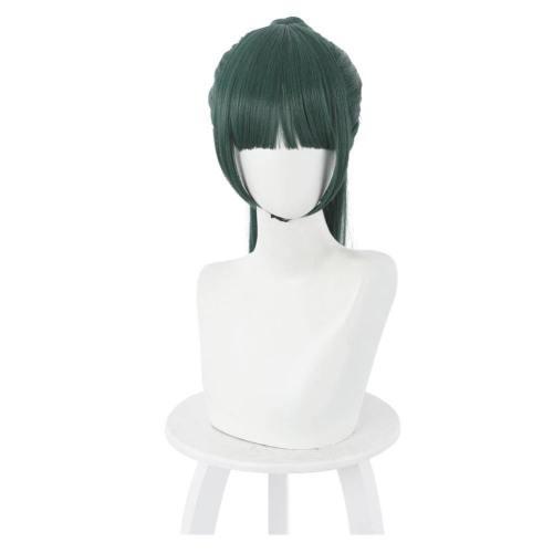 Jujutsu Kaisen Maki Zenin Heat Resistant Synthetic Hair Carnival Halloween Party Props Cosplay Wig