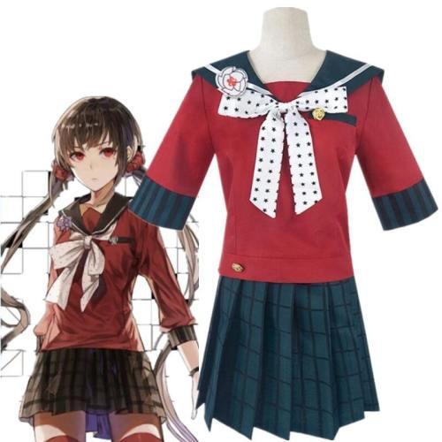 Danganronpa V3 Killing Harmony Harukawa Maki Cosplay Jk Uniform Costume