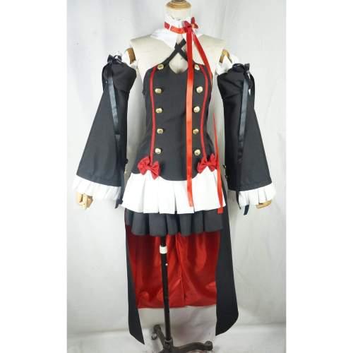 Krul Tepes Cosplay Dress Costume Any Size