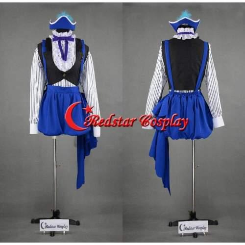 Book Of Circus Cosplay Black Butler Kuroshitsuji Ciel Cosplay Costume Dress