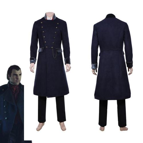 Nos4A2 Charlie Manx Halloween Carnival Costume Cosplay Costume