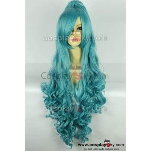 Karneval Eva Long Curly Hair Cosplay Wig