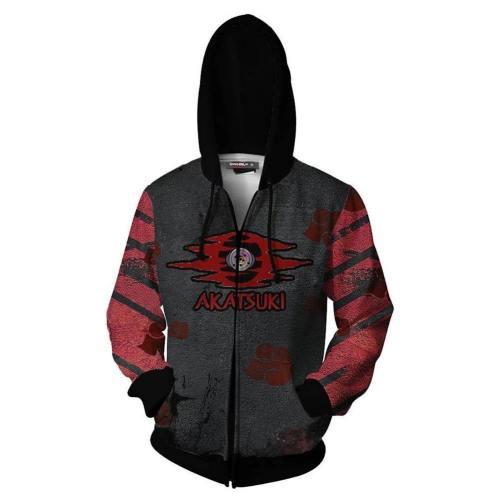 Unisex 3D Print Anime Naruto Hoodie Boruto Uchiha Itachi Tops Zip Up Hoodies Sweatshirt
