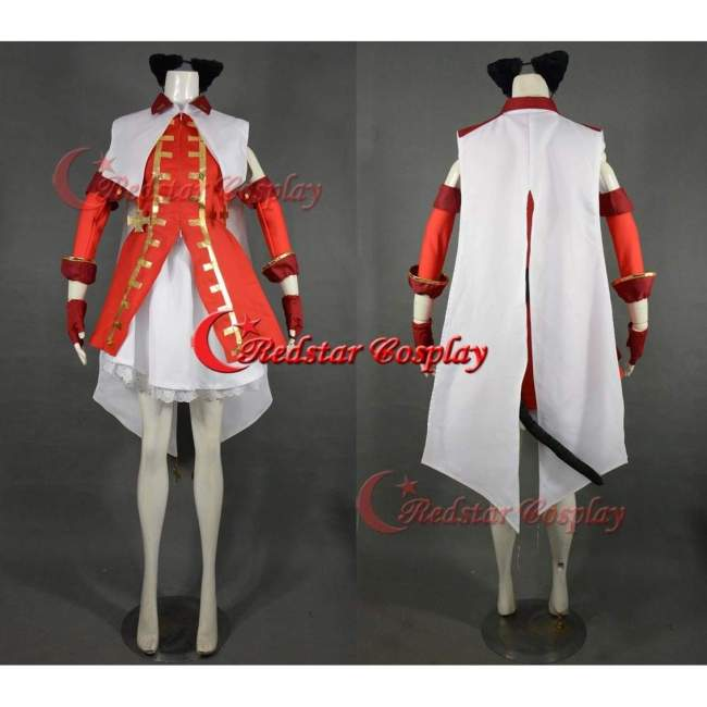 Fate/Stay Night Cosplay Tohsaka Rin Cosplay Costume Dress Custom In Sizes