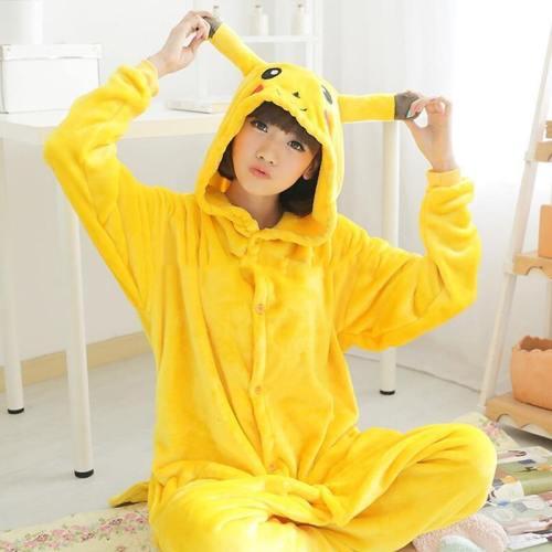 Onesie Pikachu Pika Adult Child Dance Fancy Pajama Cosplay Costumes