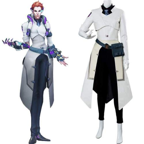 Overwatch Moira O'Deorain Scientist Skin Cosplay Costume