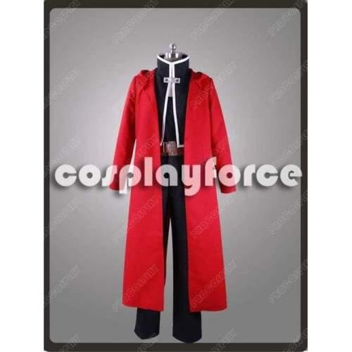 New Fullmetal Alchemist Edward Elric Cosplay Costume Mp002881
