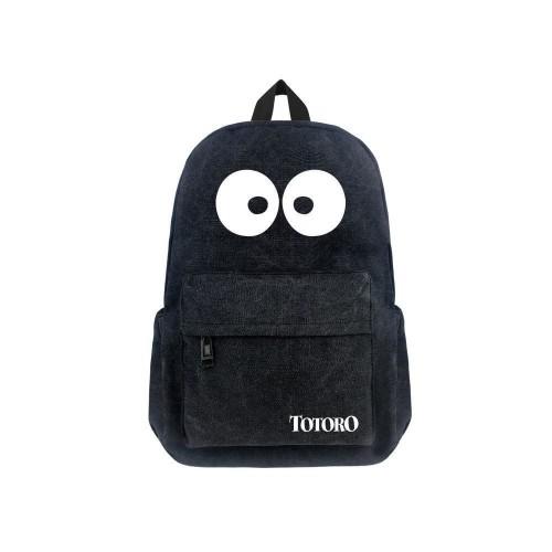 Japanese Anime Totoro Canvas 17  Bag Backpack