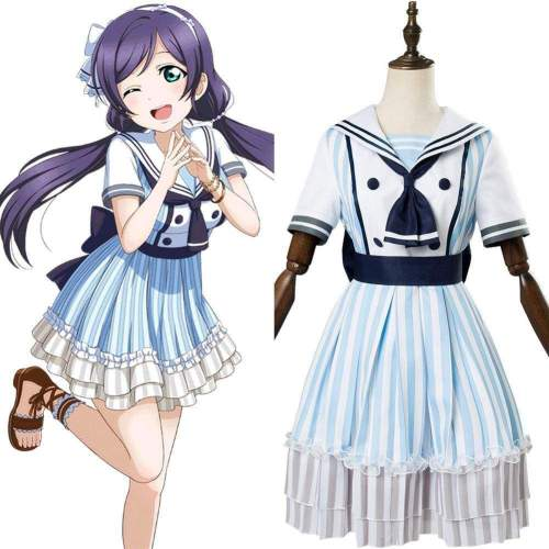 Lovelive Nozomi Tojo Dress Uniform Cosplay Costume Ssr Pirate Ver