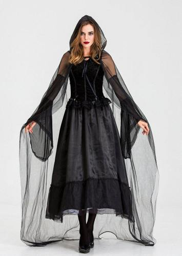 Halloween Witch Costume Women Dress Costumes