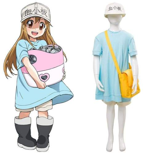 Anime Cells At Work Platelet Kesshoban Cosplay Costume