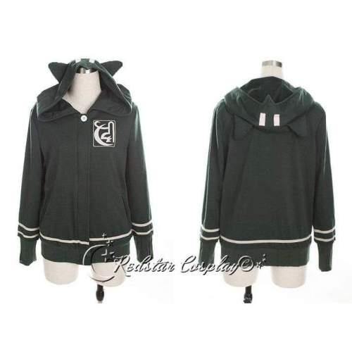 Danganronpa Dangan-Ronpa Chiaki Nanami Cosplay Costume Hoodie Jacket Coat