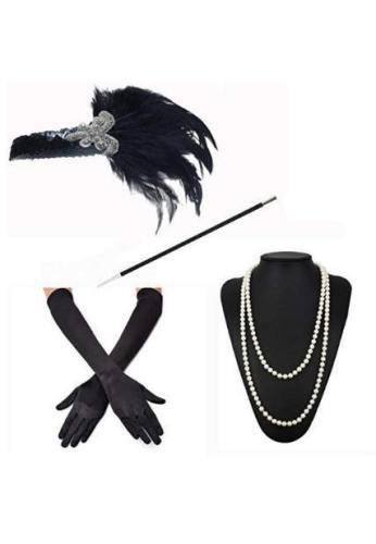 Gatsby Headband Set Ball Headpiece B