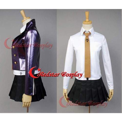 Danganronpa Kyouko Kirigiri Halloween Cosplay Costume Dress Uniform Outfit Suit