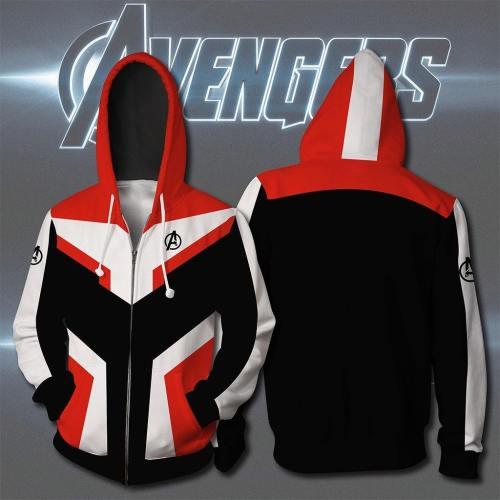 Avengers Endgame Cap Cardigan Hoodie