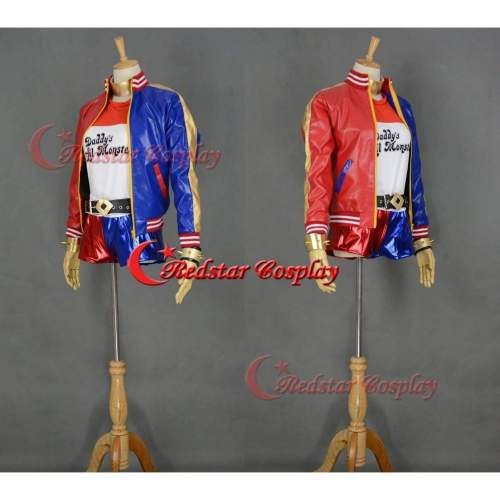 Suicide Squad Harley Quinn Cosplay Costume (Type 2)
