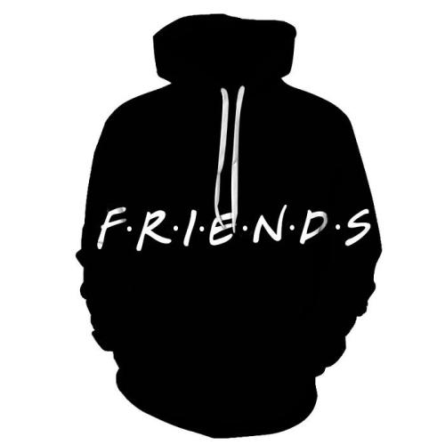 Friends Life 3D - Sweatshirt, Hoodie, Pullover