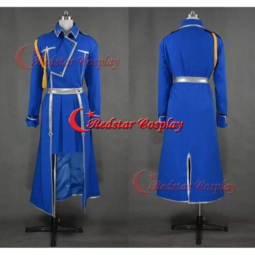 Roy Mustang Military Cosplay Costume Female Style From Fullmetal Alchemist Cosplay