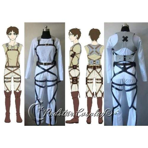 Attack on Titan Shingeki no Kyojin Belts and harness Cosplay Straps and Skirt (Ver.A)