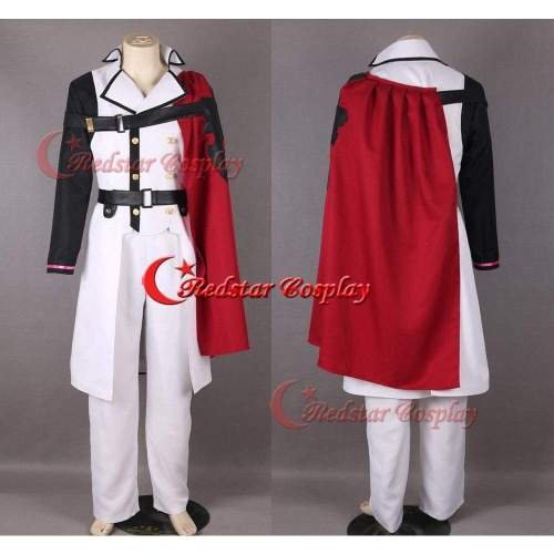 Seraph Of The Crowley Eusford Vampires Uniform Anime Cosplay Costume