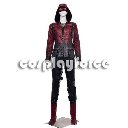 Green Arrow Season 3 Speedy Thea Cosplay Costume Mp002972