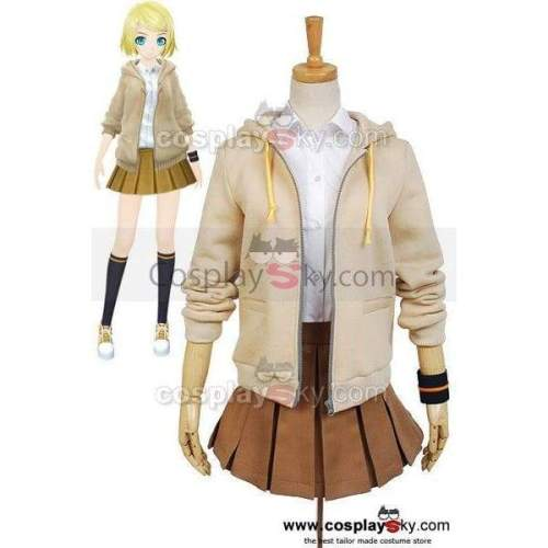 Vocaloid Project Diva-F 2Nd Rin Cosplay Costume