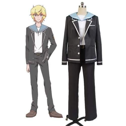 Cute High Earth Defense Club Love! Defense Club Yumoto Hakone Grade One Uniform Cosplay Costume