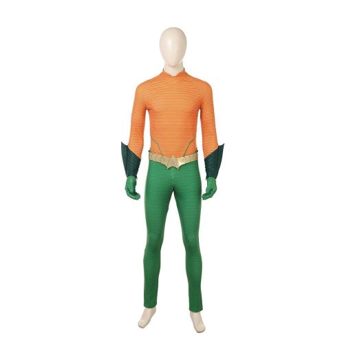 Aquaman Arthur Curry Costume Halloween Party Men Suit