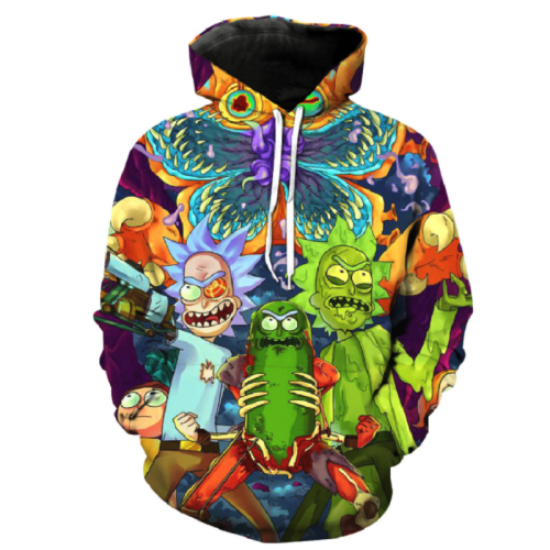 Rick And Morty Pullover Hoodie Csos882