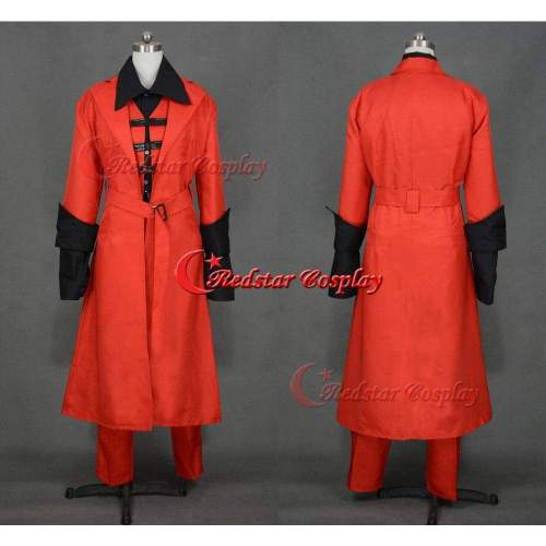 Devil May Cry Iv 4 Dante Cosplay Costume - Custome Made In Any Size