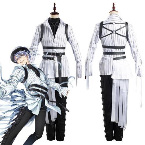 Twisted-Wonderland Azul/Floyd/Jade Uniform Outfits Halloween Carnival Suit Cosplay Costume