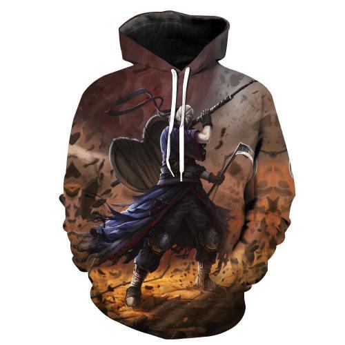 Naruto Hoodie - Naruto Shippuden Uchiha Obito Pullover Hoodie Csos005