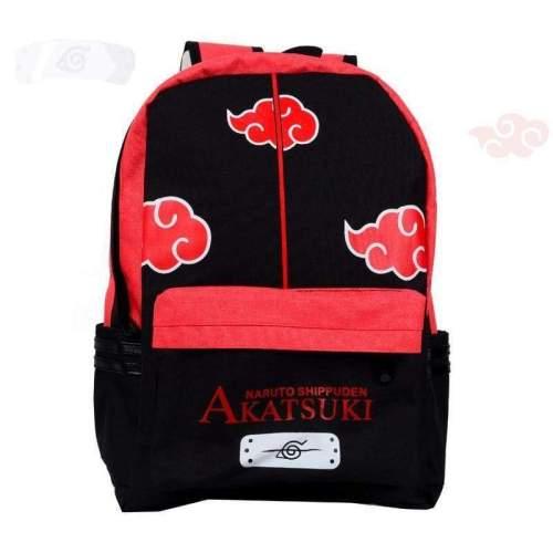 Anime Comics Naruto Teens Canvas Backpack