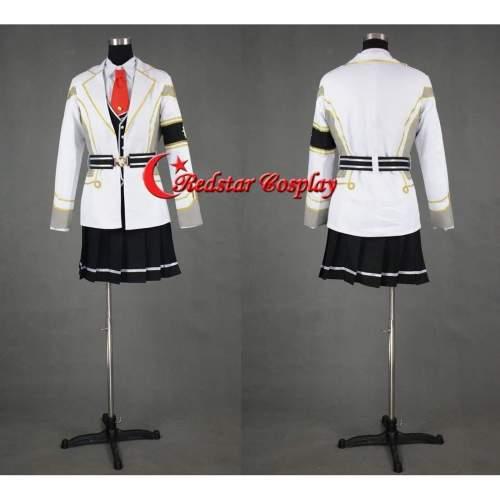 Kamigami No Asobi Cosplay Ludere Deorum Kusanagi Yui Dark Cosplay Costume-Custom Made