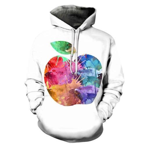 Soulful Apple 3D - Sweatshirt, Hoodie, Pullover