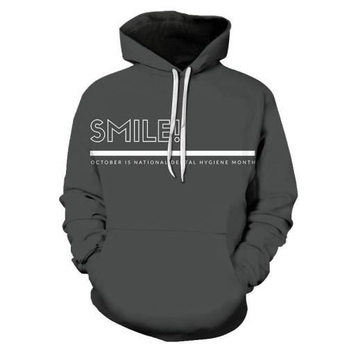 Smile Dentist 3D Hoodie Sweatshirt Pullover